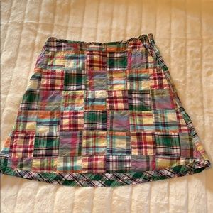 L.L. Bean Patchwork skirt sz 10P
